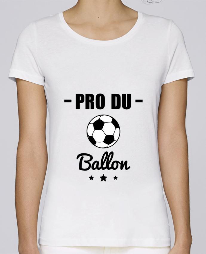 T-shirt Femme Stella Loves Pro du ballon de football par Benichan
