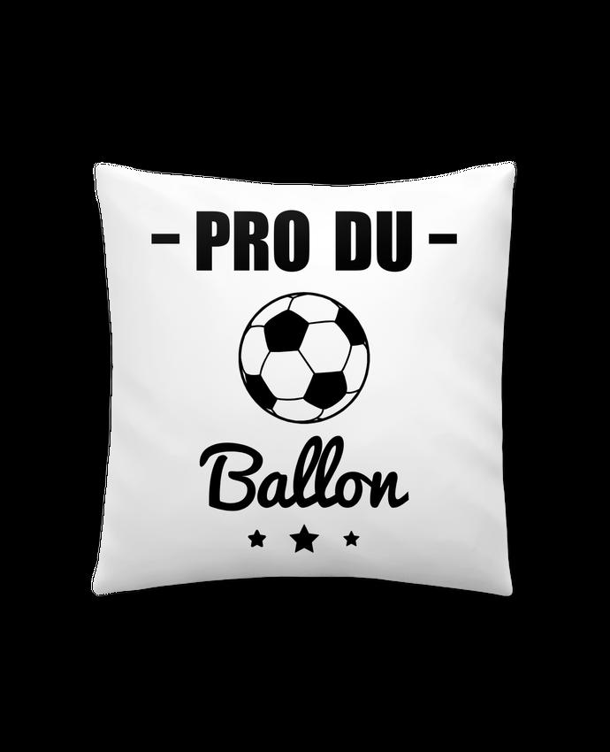 Coussin Synthétique Doux 41 x 41 cm Pro du ballon de football par Benichan