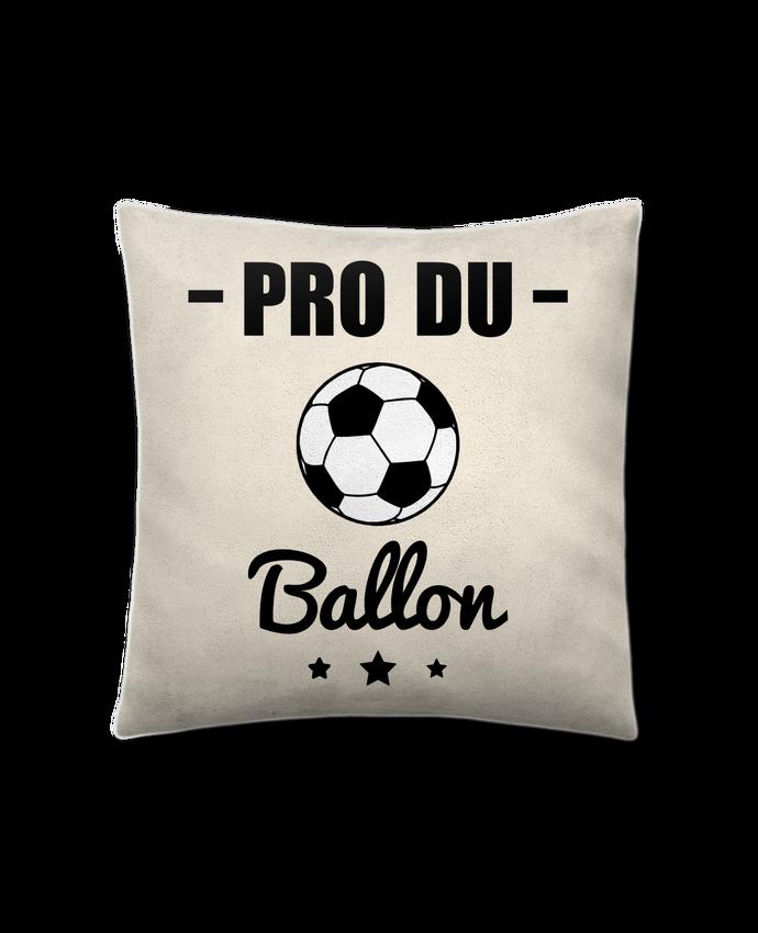 Coussin Toucher Peau de Pêche 41 x 41 cm Pro du ballon de football par Benichan