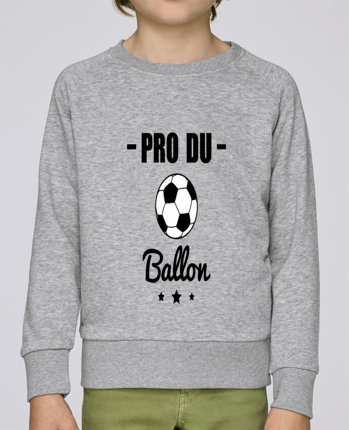 Sweat Col Rond Enfant Stanley Mini Scouts Pro du ballon de football par Benichan