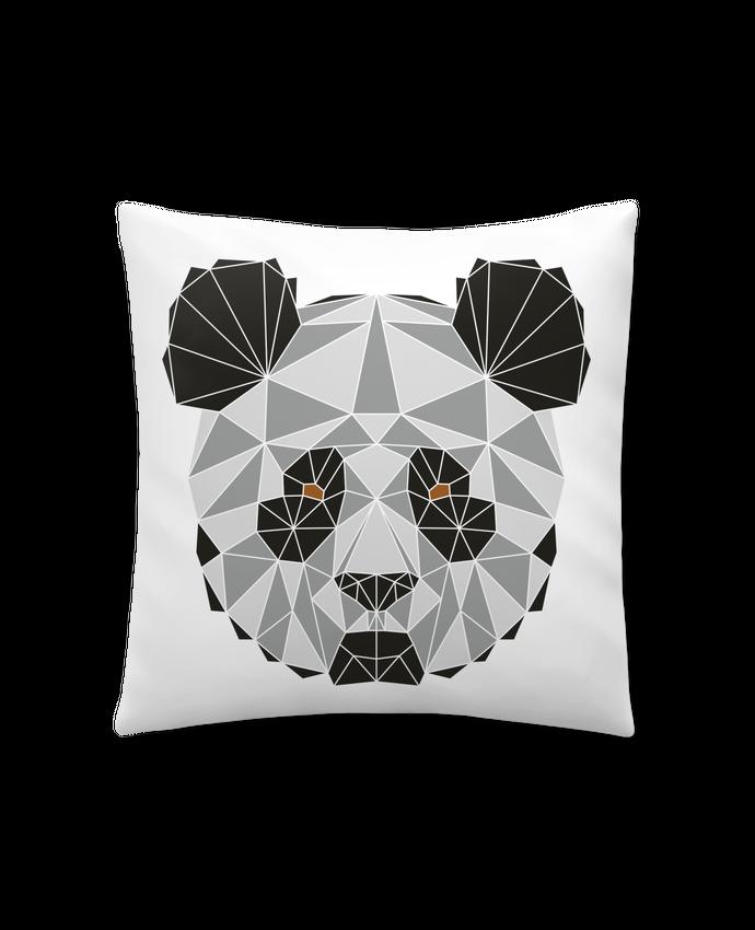 Coussin Synthétique Doux 41 x 41 cm Panda géométrique par /wait-design