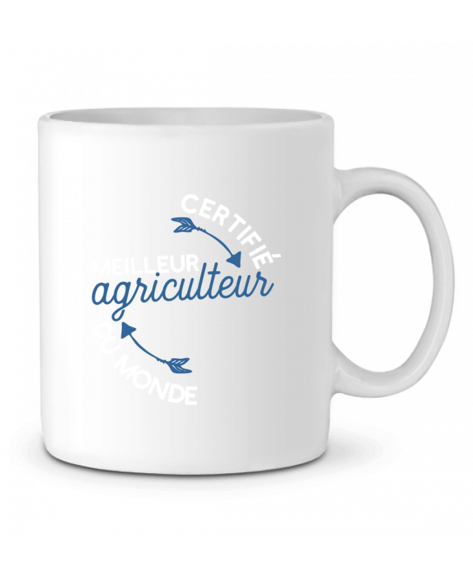 Mug en Céramique Meilleur agriculteur du monde par Original t-shirt