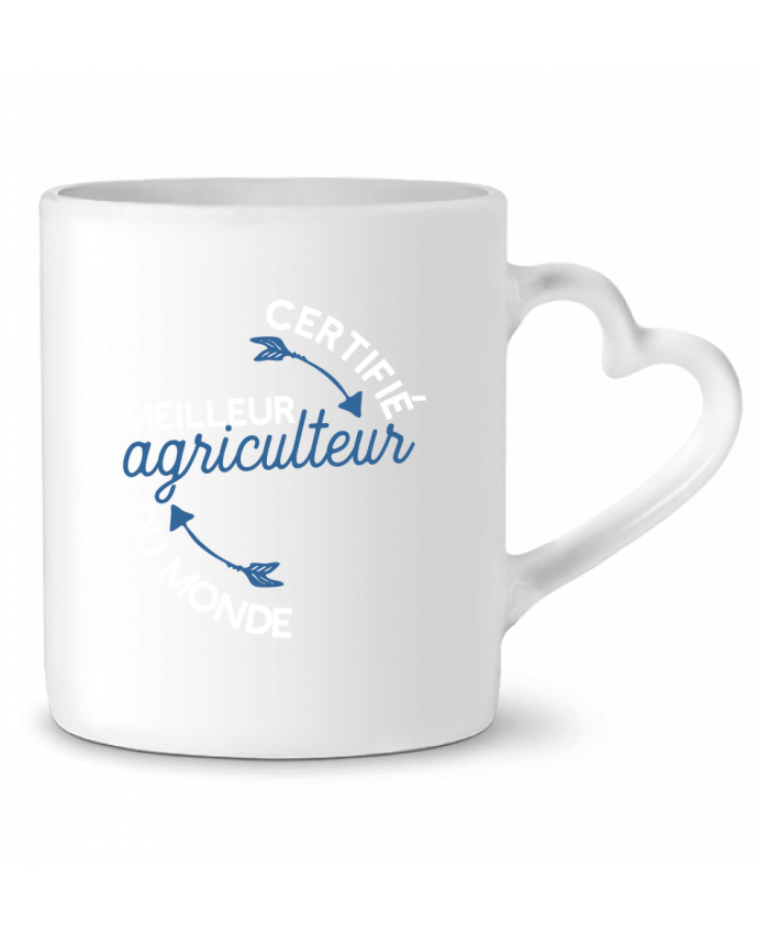 Mug Coeur Meilleur agriculteur du monde par Original t-shirt