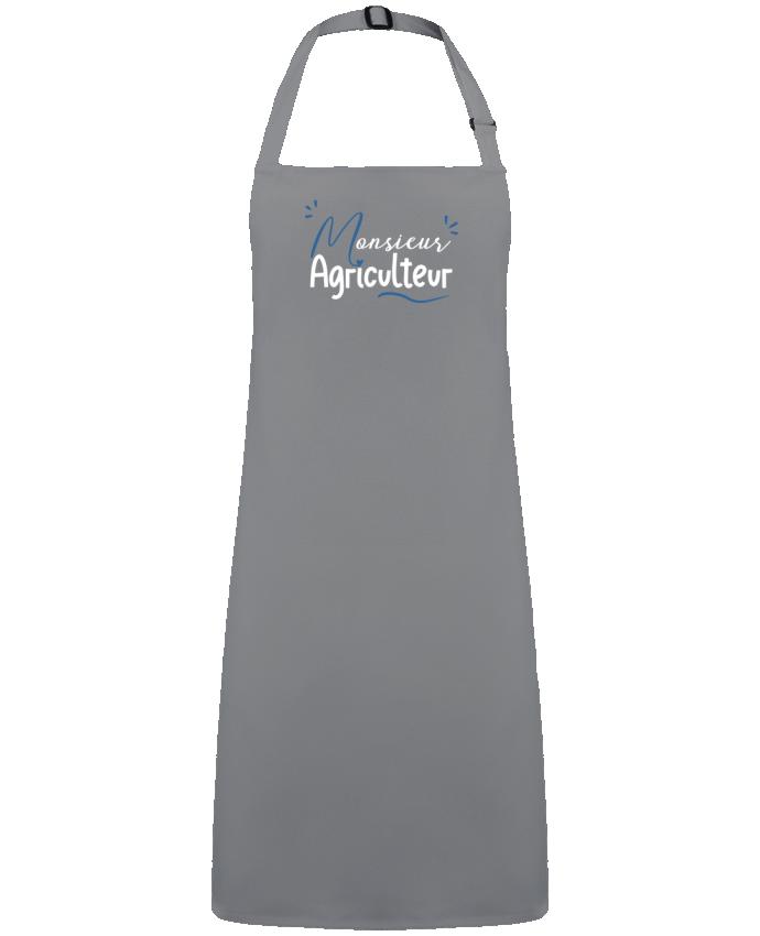 Tablier Sans Poche Monsieur Agriculteur par  Original t-shirt