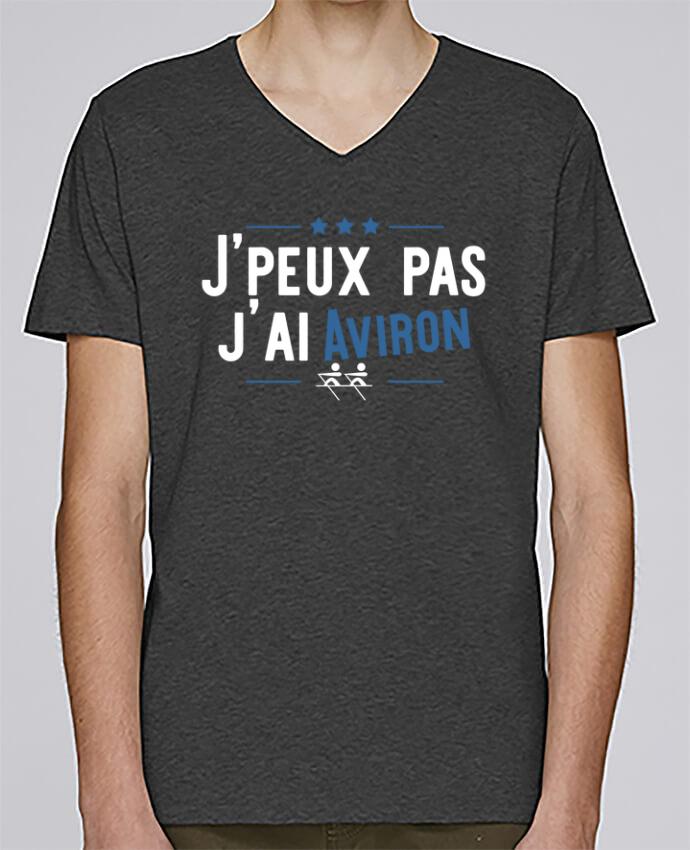 T-shirt Col V Homme Stanley Relaxes J'peux pas j'ai aviron par Original t-shirt