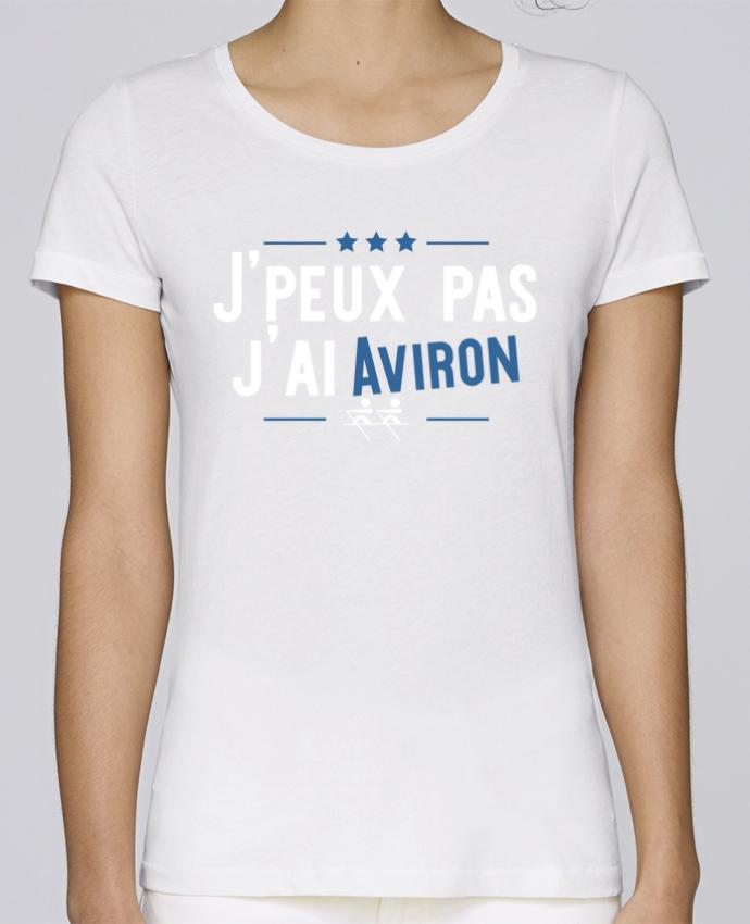 T-shirt Femme Stella Loves J'peux pas j'ai aviron par Original t-shirt