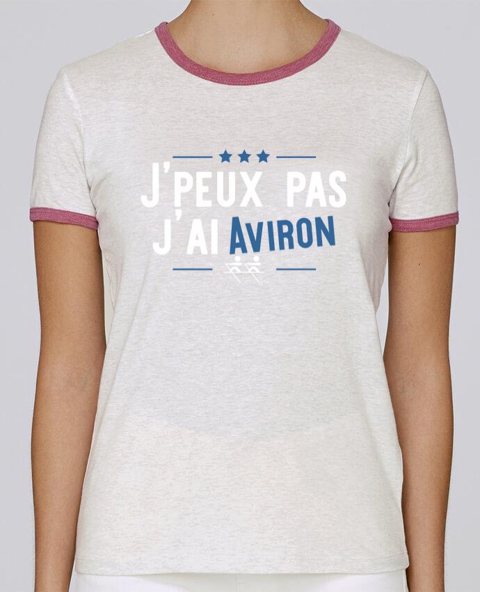 T-shirt Femme Stella Returns J'peux pas j'ai aviron pour femme par Original t-shirt