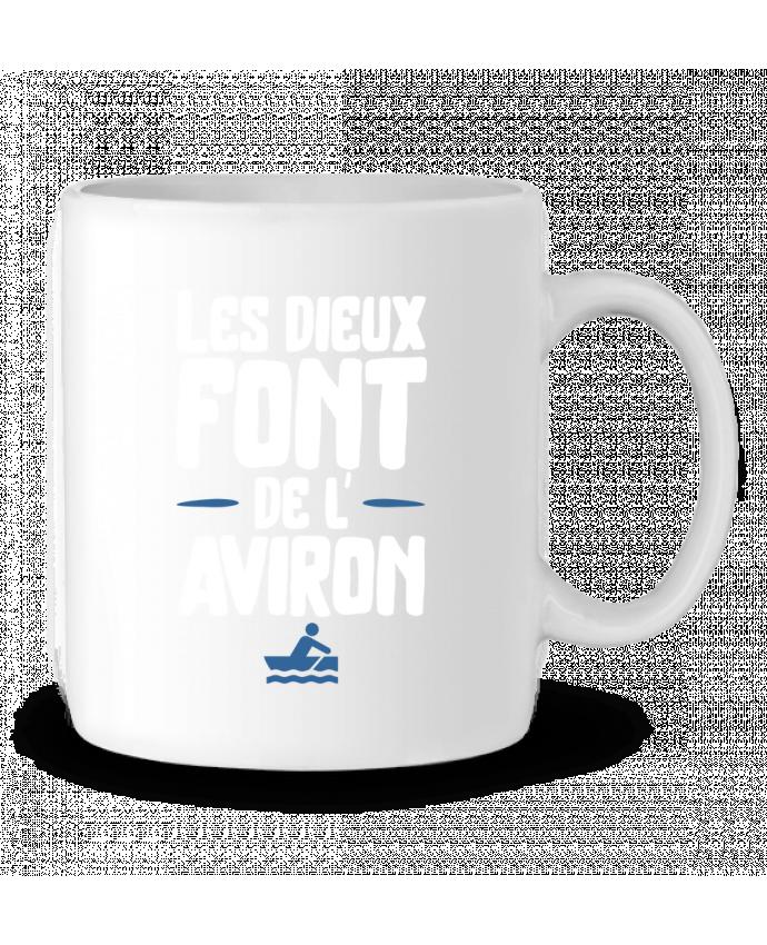 Mug en Céramique Dieu de l'aviron par Original t-shirt