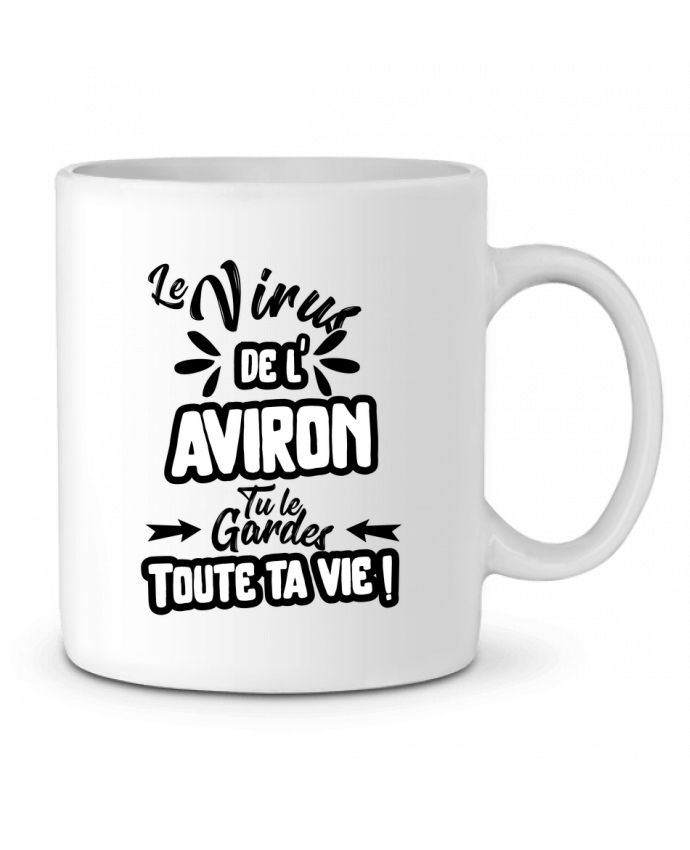 Mug en Céramique Virus de l'Aviron par Original t-shirt