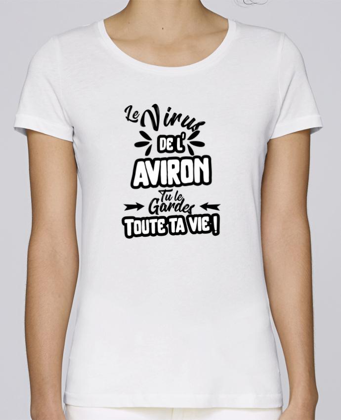 T-shirt Femme Stella Loves Virus de l'Aviron par Original t-shirt