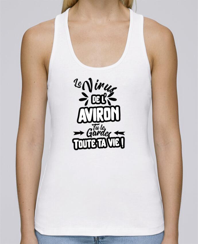Débardeur bio femme Stella Dreams Virus de l'Aviron par Original t-shirt en coton Bio