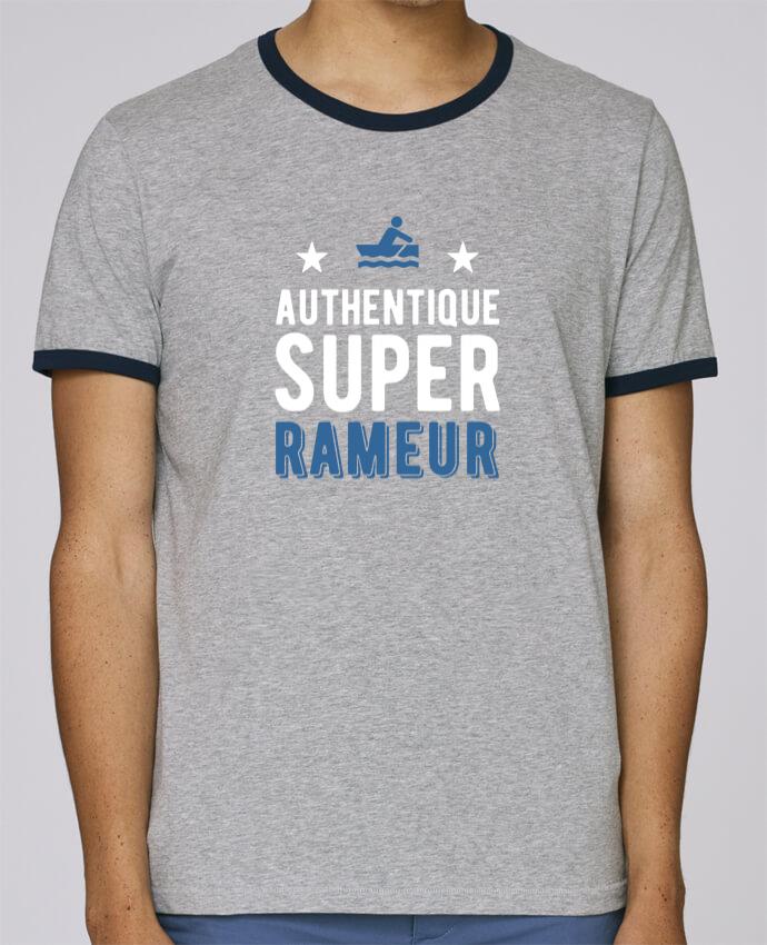 T-Shirt Ringer Contrasté Homme Stanley Holds Authentique rameur pour femme par Original t-shirt
