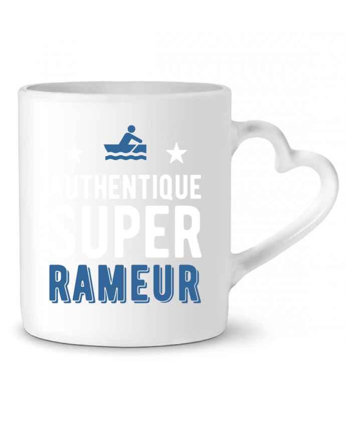 Mug Coeur Authentique rameur par Original t-shirt