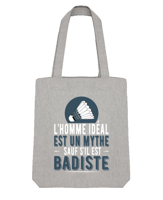 Tote Bag Stanley Stella Homme Badiste Badminton par Original t-shirt