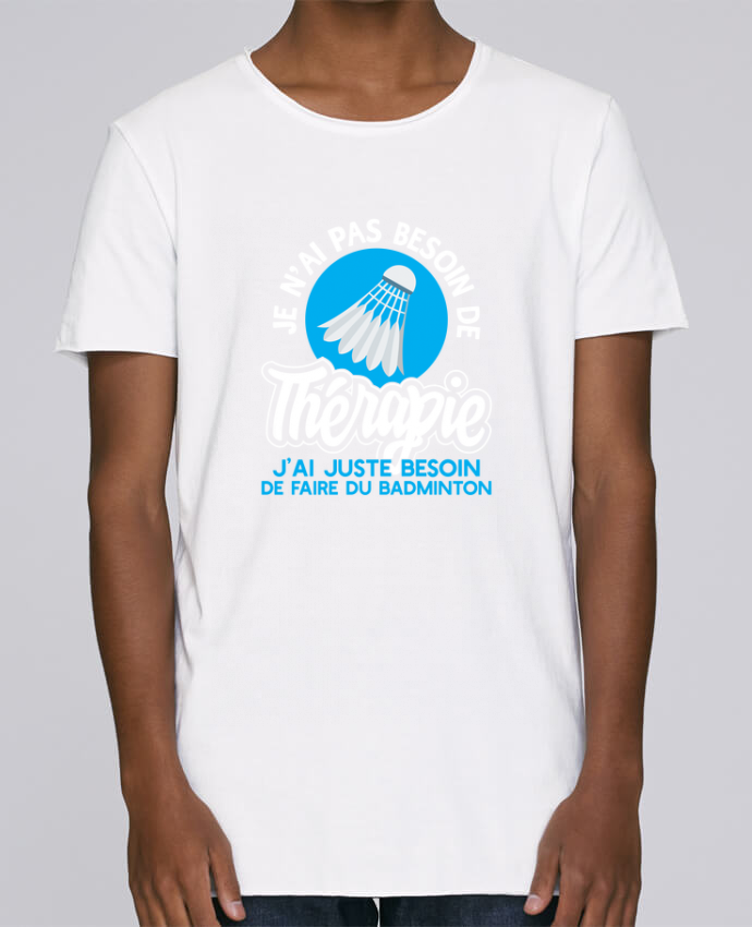 T-shirt Homme Oversized Stanley Skates Thérapie badminton par Original t-shirt