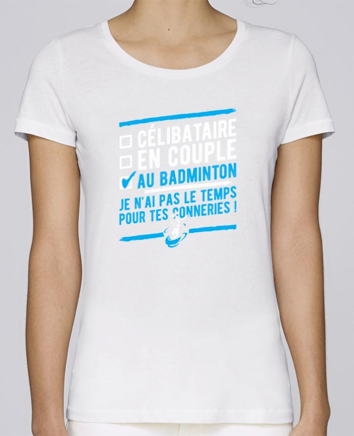 T-shirt Femme Stella Loves Accro badminton par Original t-shirt
