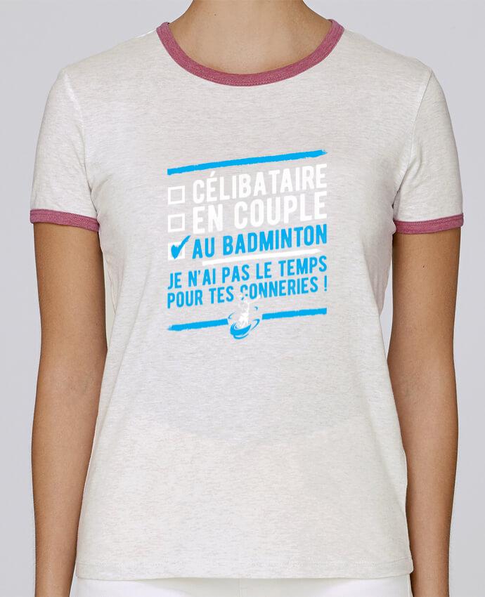 T-shirt Femme Stella Returns Accro badminton pour femme par Original t-shirt