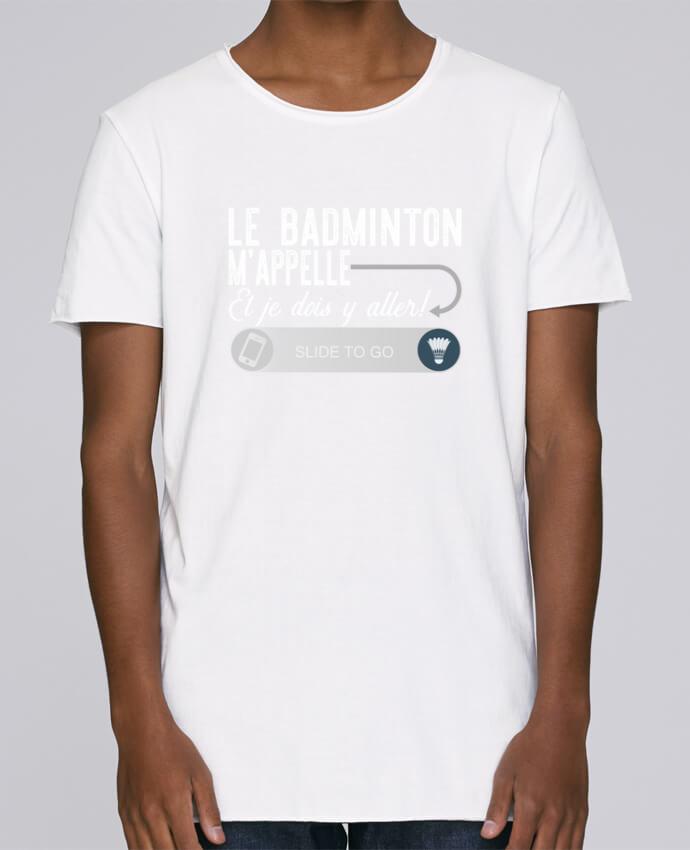 T-shirt Homme Oversized Stanley Skates Badminton m'appelle par Original t-shirt