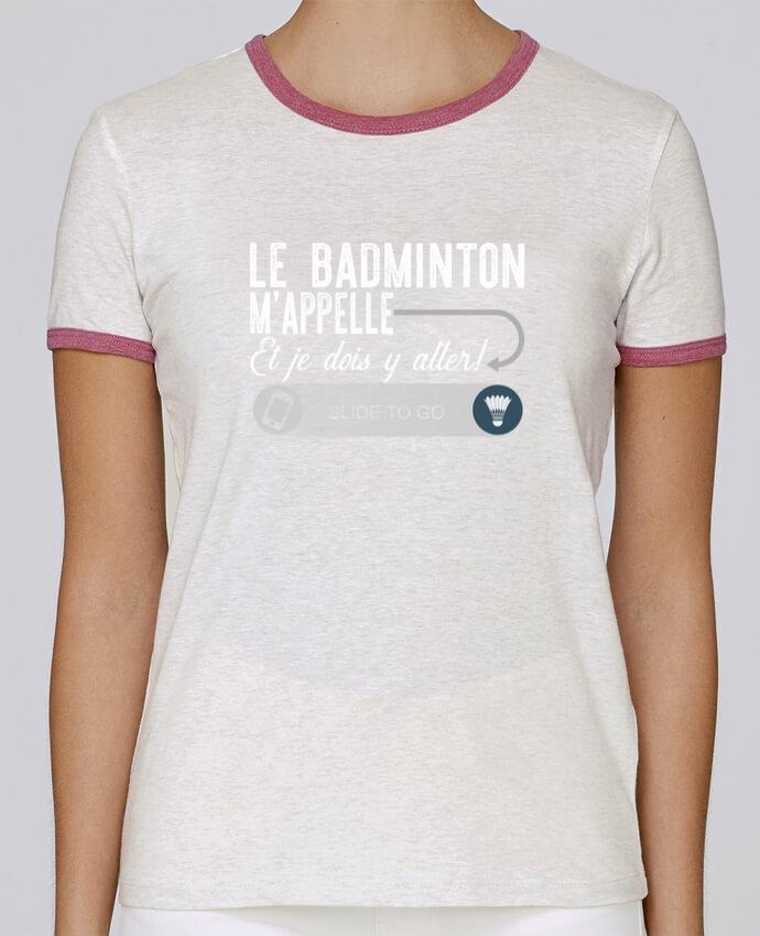 T-shirt Femme Stella Returns Badminton m'appelle pour femme par Original t-shirt