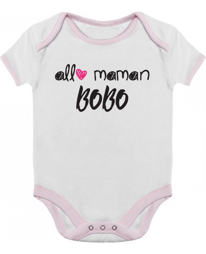 Body Bébé Contrasté Allô maman bobo Cadeau bébé par tunetoo