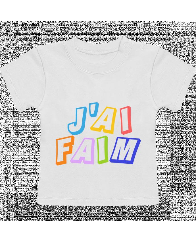 T-Shirt Bébé Manches Courtes J'ai faim cadeau bébé manches courtes du designer tunetoo