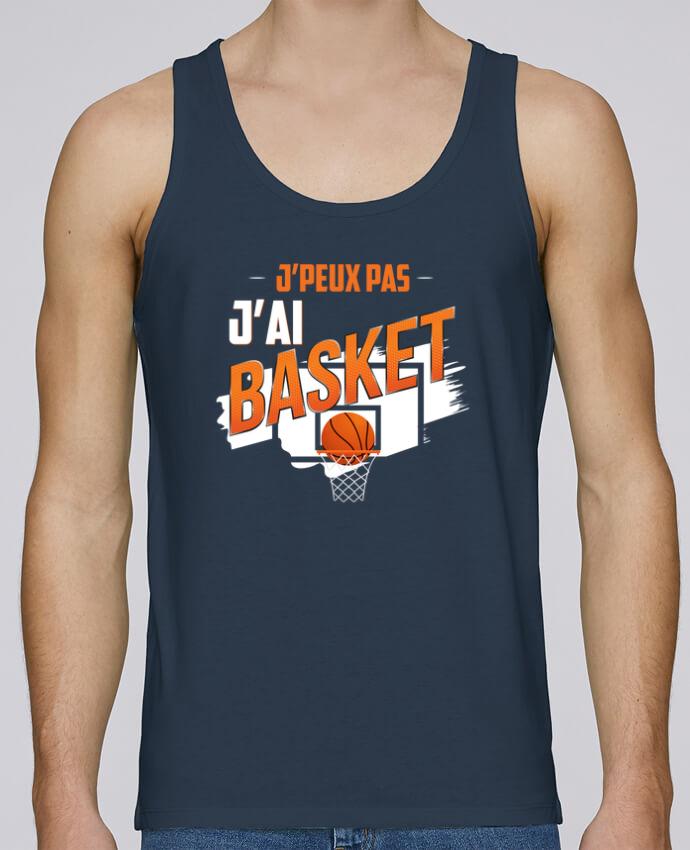 Débardeur Bio Homme Stanley Runs J'peux pas j'ai basket par Original t-shirt 100% coton bio