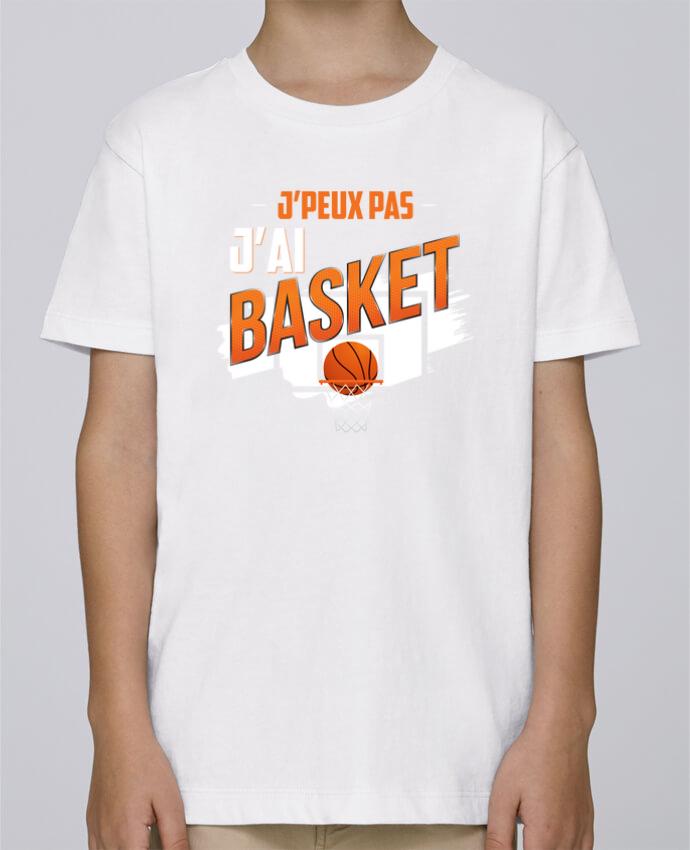 Tee Shirt Garçon Stanley Mini Paint J'peux pas j'ai basket par Original t-shirt