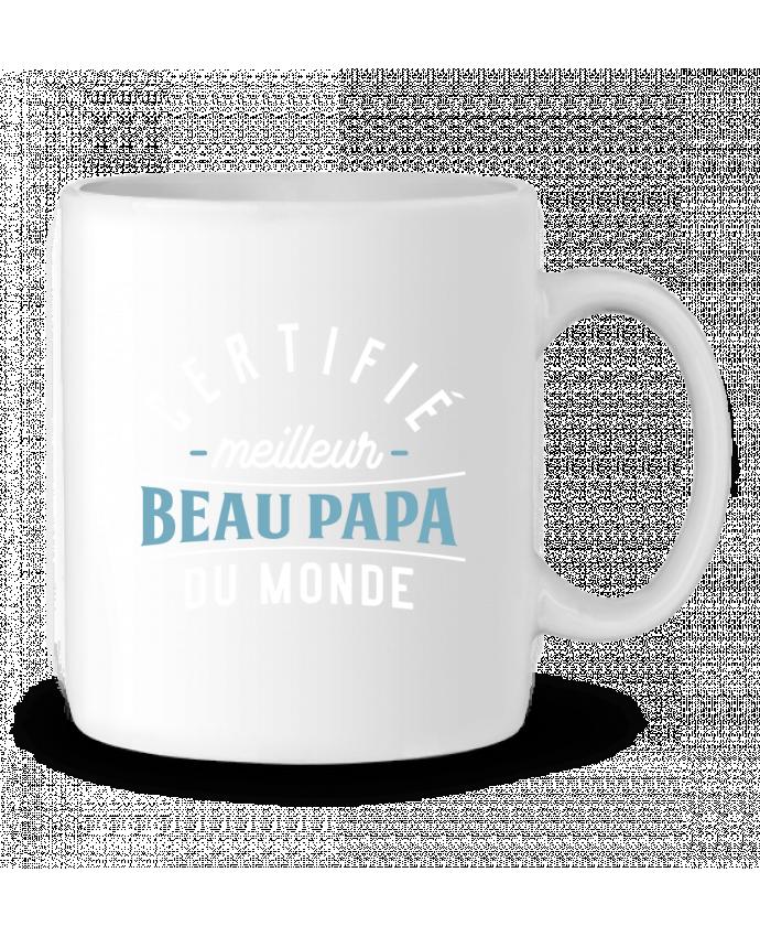 Mug en Céramique Meilleur beau papa par Original t-shirt