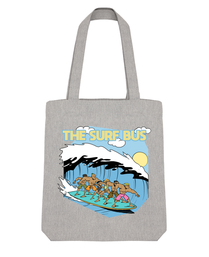 Tote Bag Stanley Stella The Surf Bus par Tomi Ax - tomiax.fr