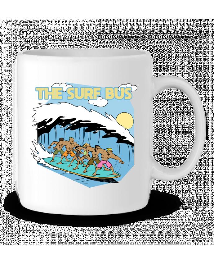 Mug en Céramique The Surf Bus par Tomi Ax - tomiax.fr