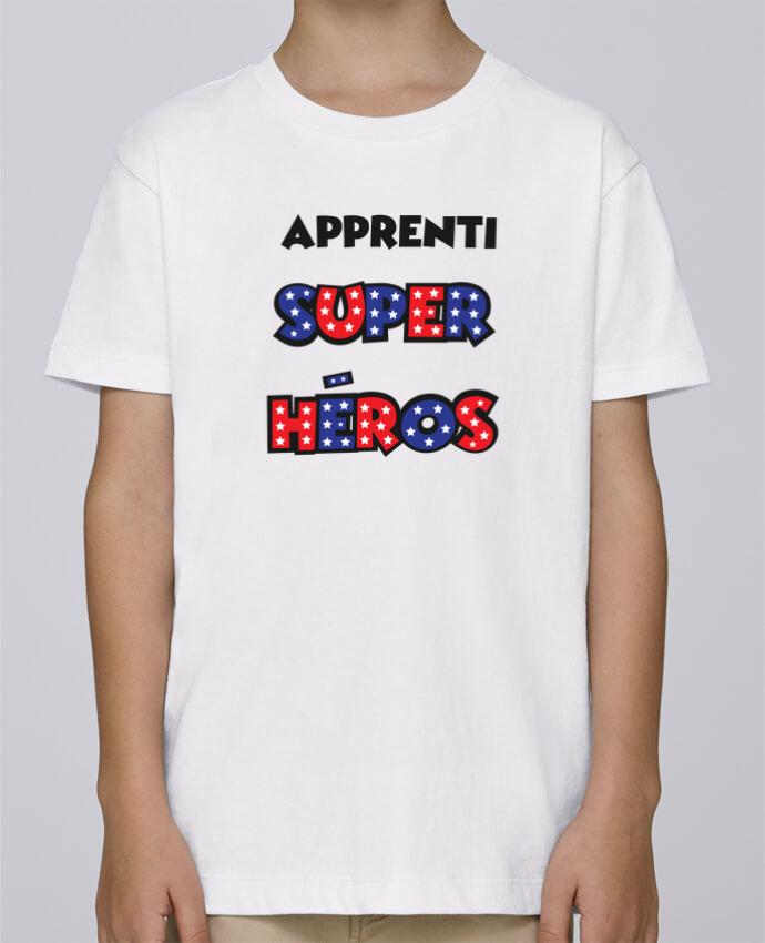 Tee Shirt Garçon Stanley Mini Paint Apprenti super héros par tunetoo
