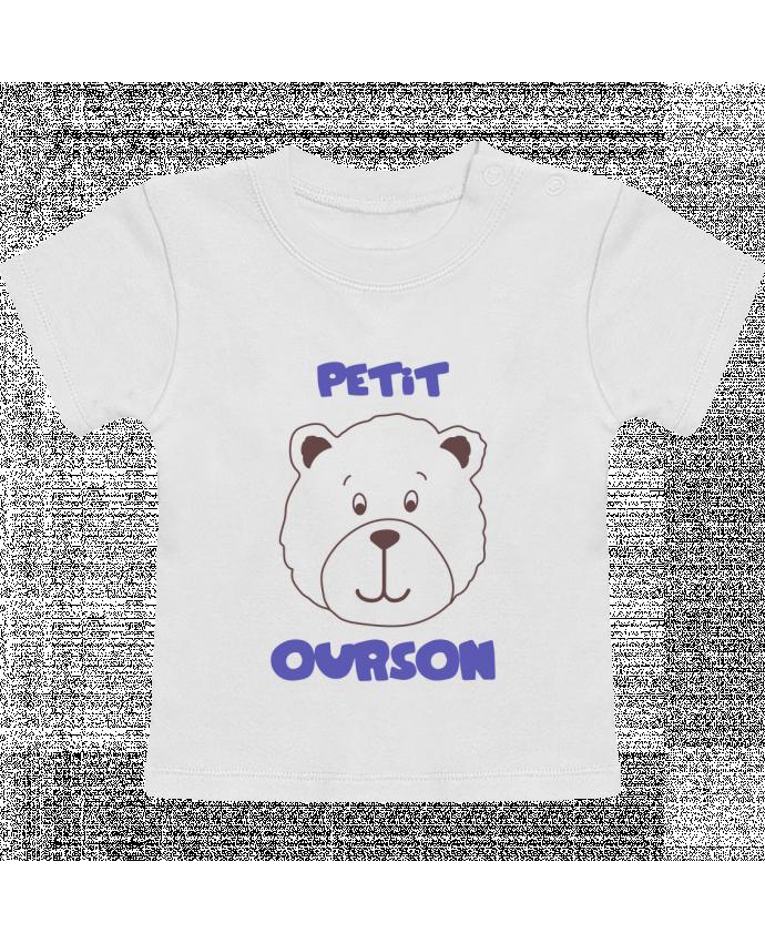 T-Shirt Bébé Manches Courtes Petit ourson manches courtes du designer tunetoo