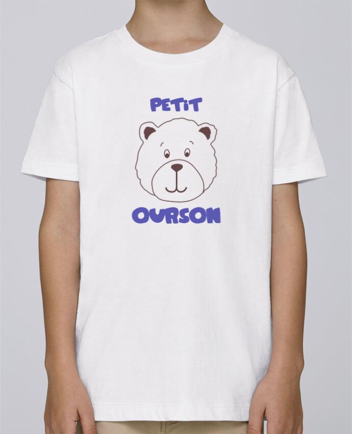 Tee Shirt Garçon Stanley Mini Paint Petit ourson par tunetoo