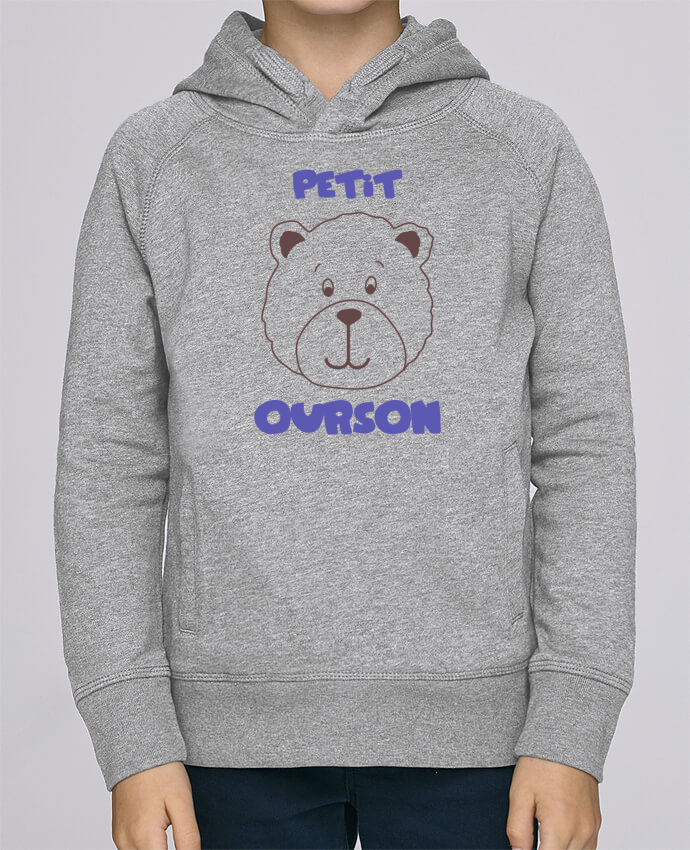 Sweat à Capuche Enfant Stanley Mini Base Petit ourson par tunetoo