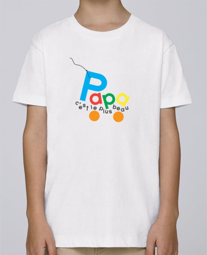 Tee Shirt Garçon Stanley Mini Paint Papa c'est le plus beau par tunetoo