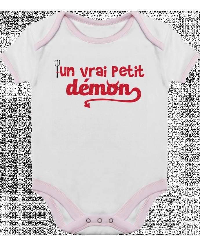 Body Bébé Contrasté Un vrai petit démon par tunetoo
