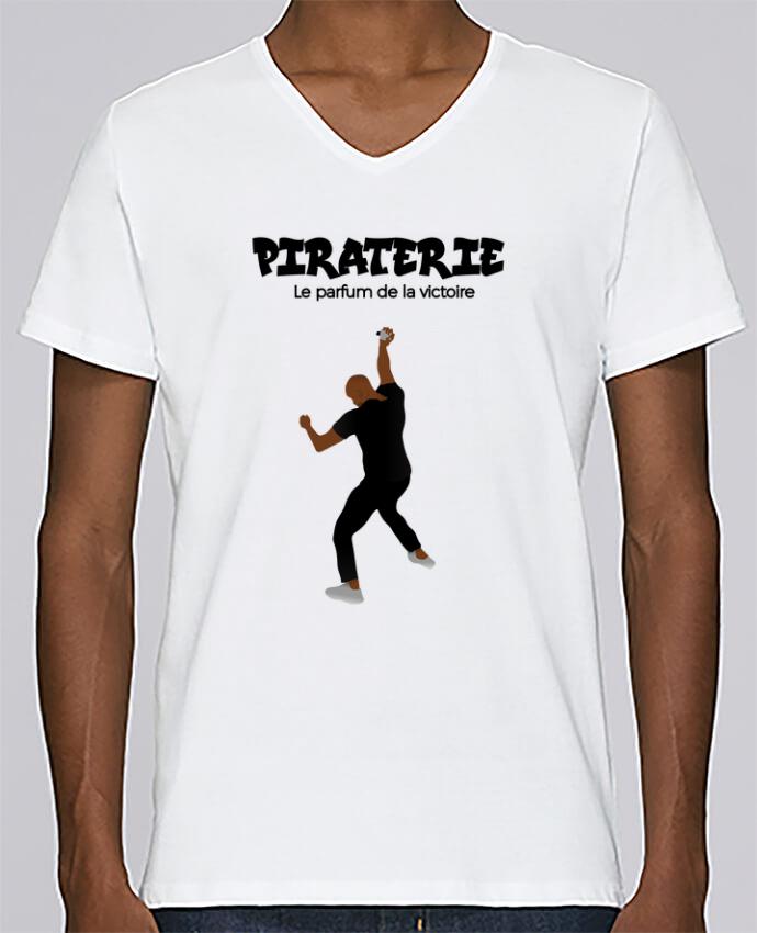T-shirt Col V Homme Stanley Relaxes Booba vs Kaaris parfum par tunetoo