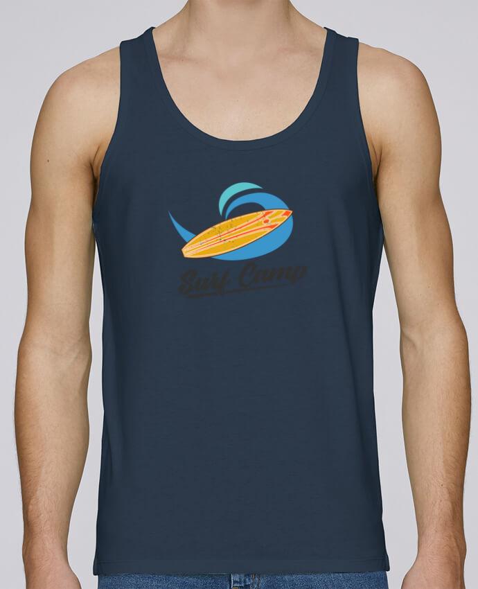 Débardeur Bio Homme Stanley Runs Summer Surf Camp par tunetoo 100% coton bio