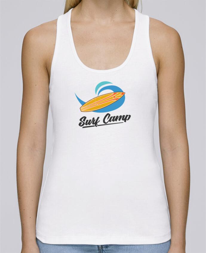 Débardeur bio femme Stella Dreams Summer Surf Camp par tunetoo en coton Bio