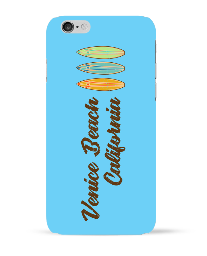 Coque 3D Iphone 6 Venice Beach Surf par tunetoo