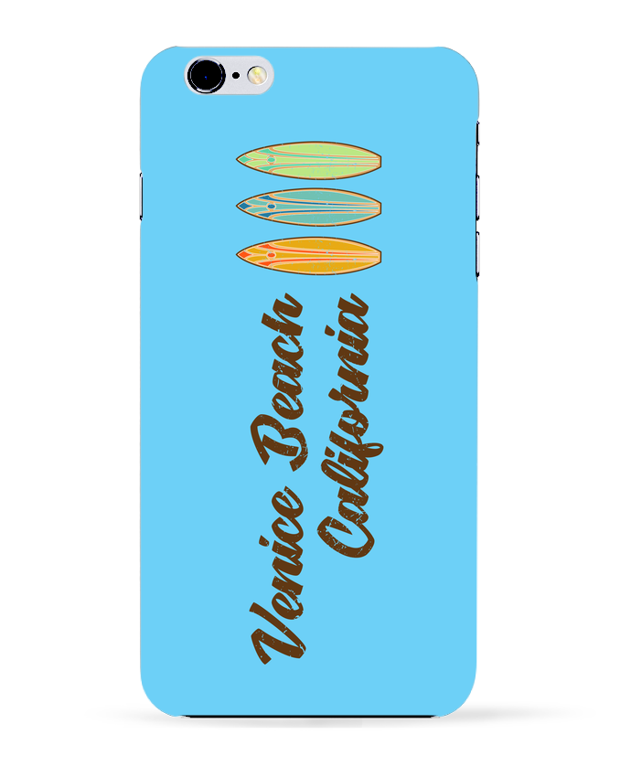 Coque 3D Iphone 6+ Venice Beach Surf de tunetoo