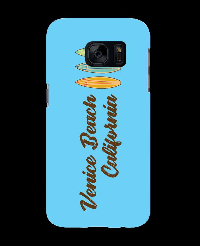 Coque 3D Samsung Galaxy S7 Venice Beach Surf par tunetoo