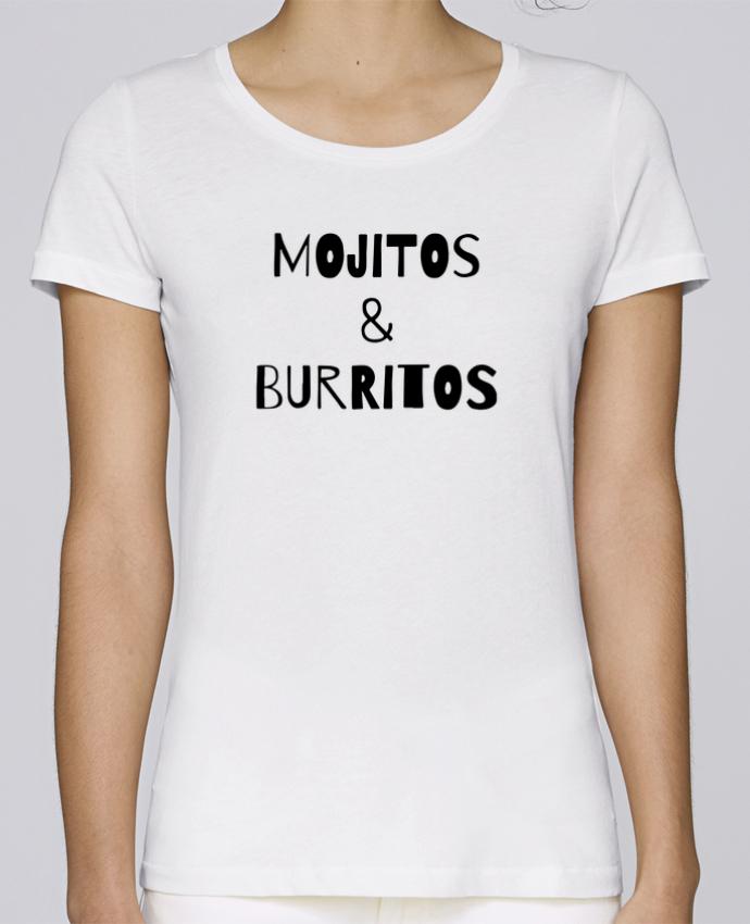 T-shirt Femme Stella Loves Mojitos & Burritos par tunetoo