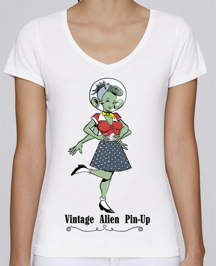 t shirt alien femme