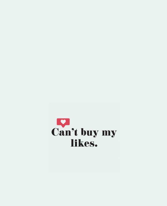 Sac en Toile Coton Can't buy my likes par tunetoo