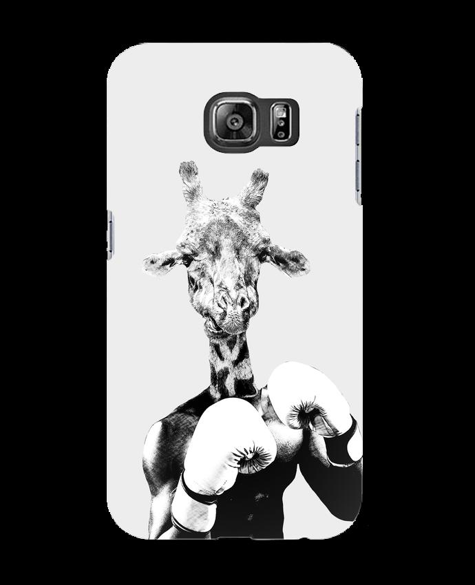 Coque 3D Samsung Galaxy S6 Girafe boxe - justsayin