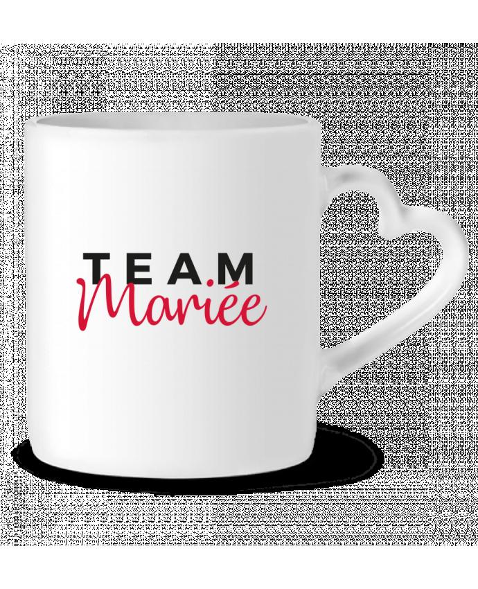 Mug Coeur Team Mariée par Nana