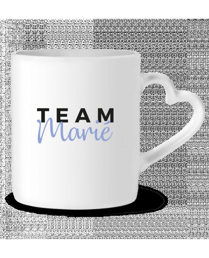 Mug Coeur Team Marié par Nana