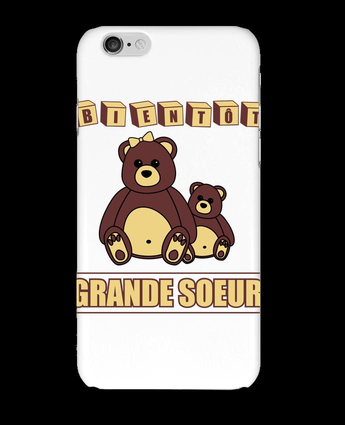 Coque 3D Iphone 6 Bientôt Grande Soeur par Benichan