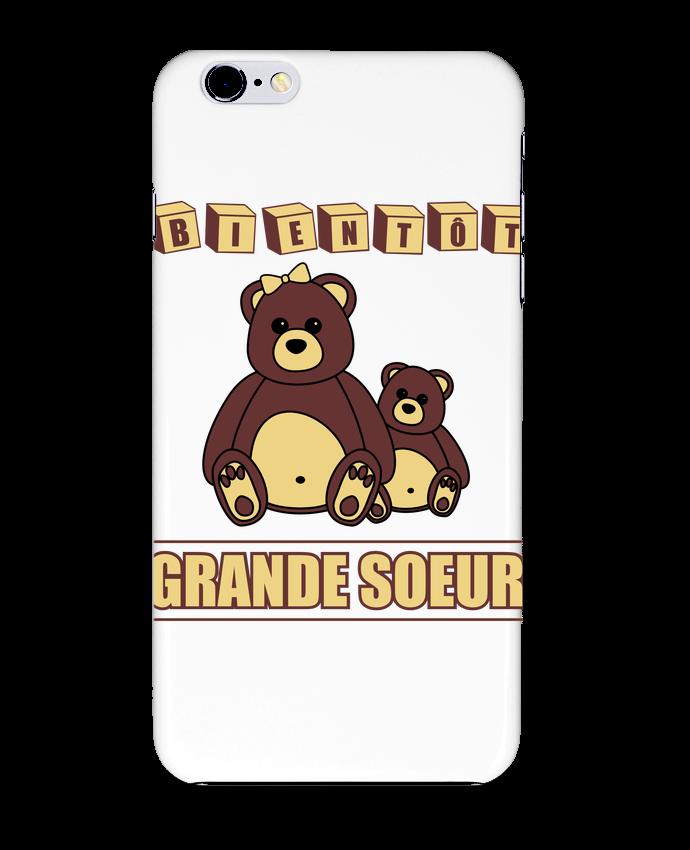 Coque 3D Iphone 6+ Bientôt Grande Soeur de Benichan